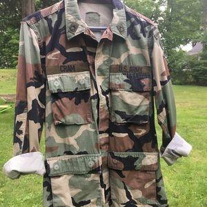 Military Camo Army Airborne Field Jacket